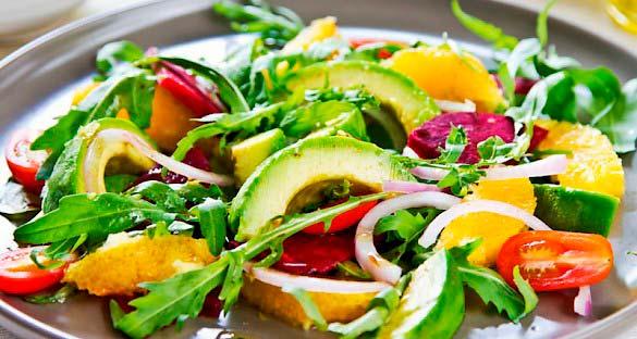 salada - Dicas para comer melhor (e emagrecer) sem riscos à saúde