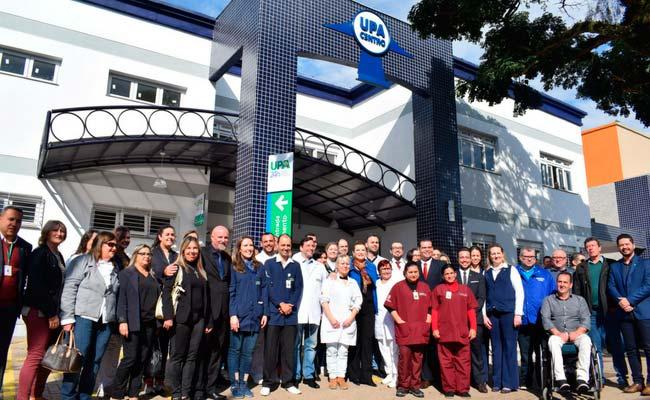 NOVO HAMBURGO UPA CENTRO 24 HORAS - Prefeita Fátima Daudt inaugura UPA 24 horas em Novo Hamburgo