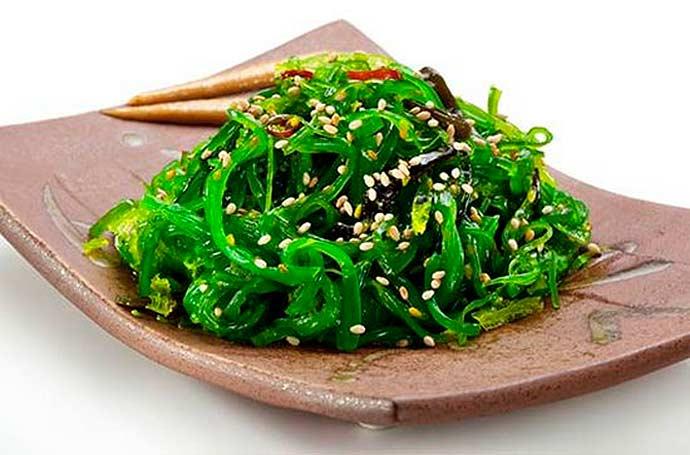 algas - Vegetarianismo - alimentos que podem substituir a carne