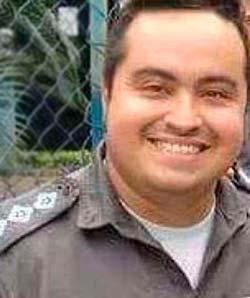 Diogo Lins Canito - Capitão da PM é o 70º policial morto este ano no Rio