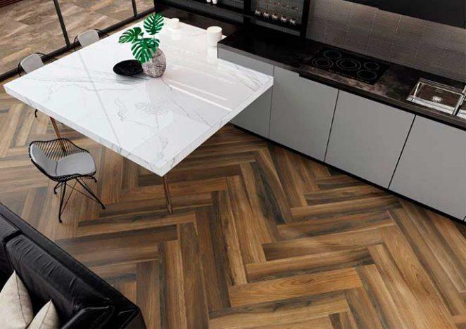 Portinari tavola 662x468 - Mesas de madeira inspiram criação de porcelanato