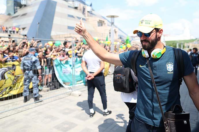 kazan7 - Seleção Brasileira já está em Kazan para o jogo contra a Bélgica