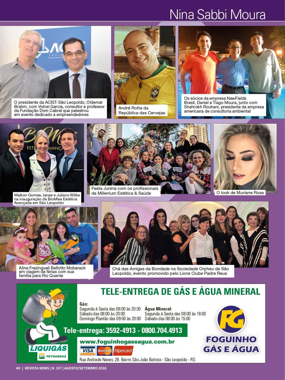 Revista News 157 40 - Nina Sabbi Moura - Edição 157