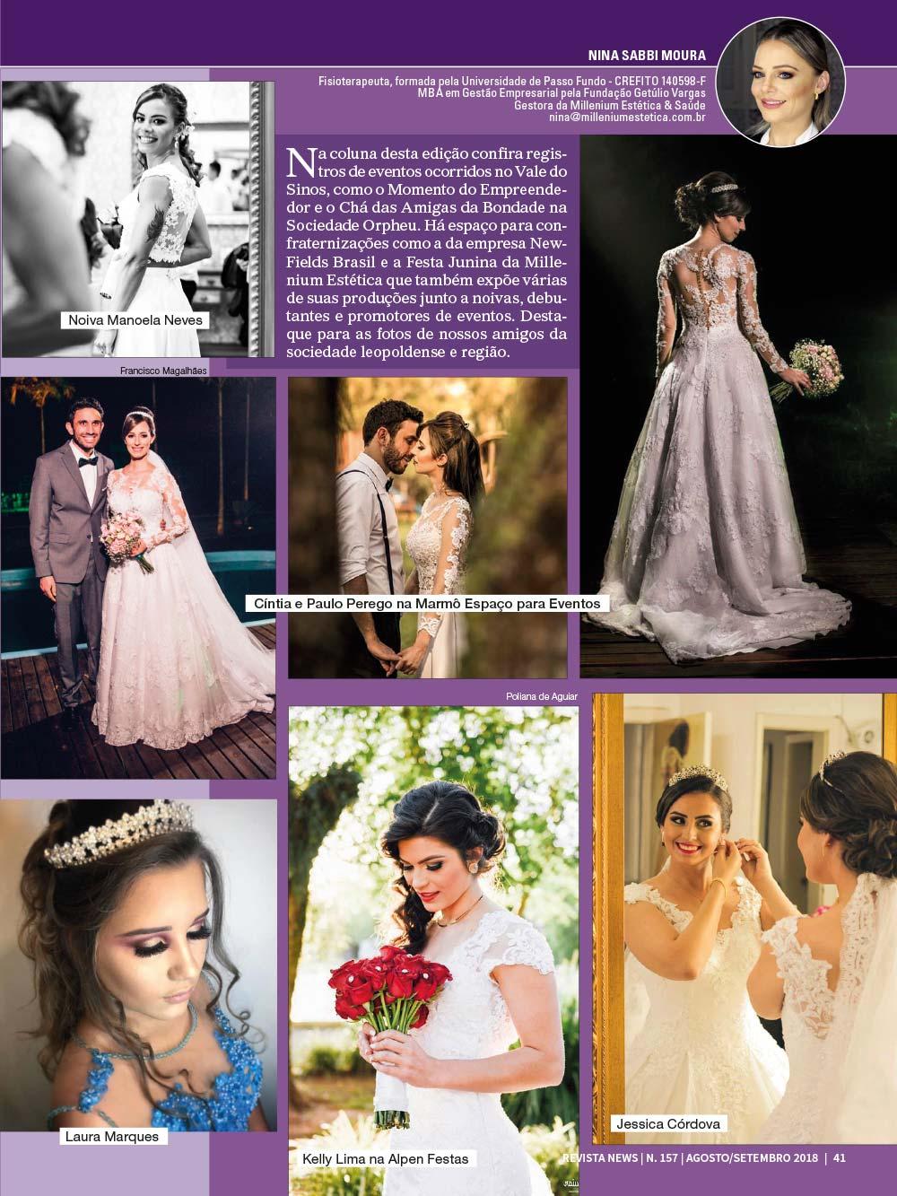 Revista News 157 41 - Nina Sabbi Moura - Edição 157