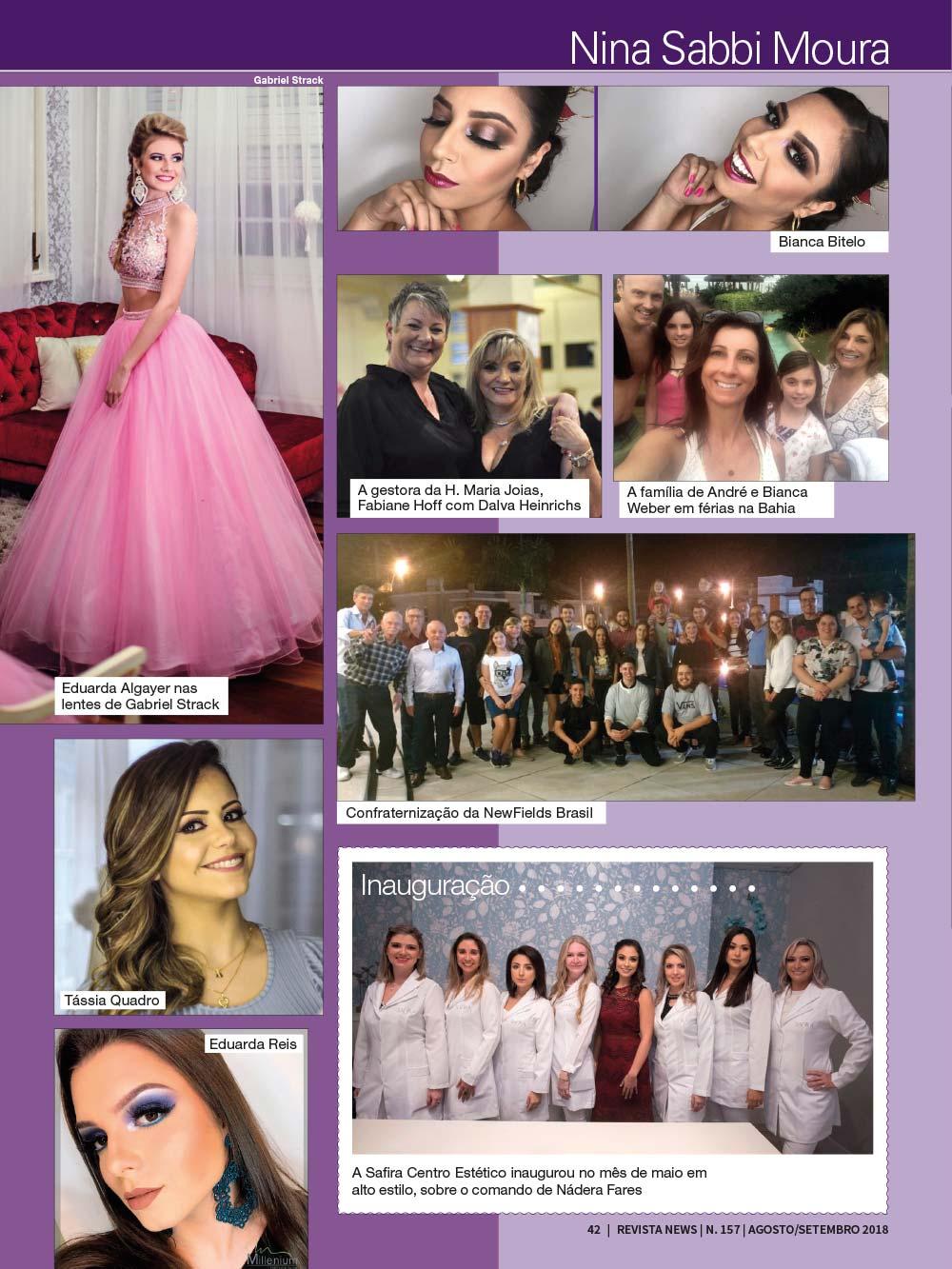 Revista News 157 42 - Nina Sabbi Moura - Edição 157