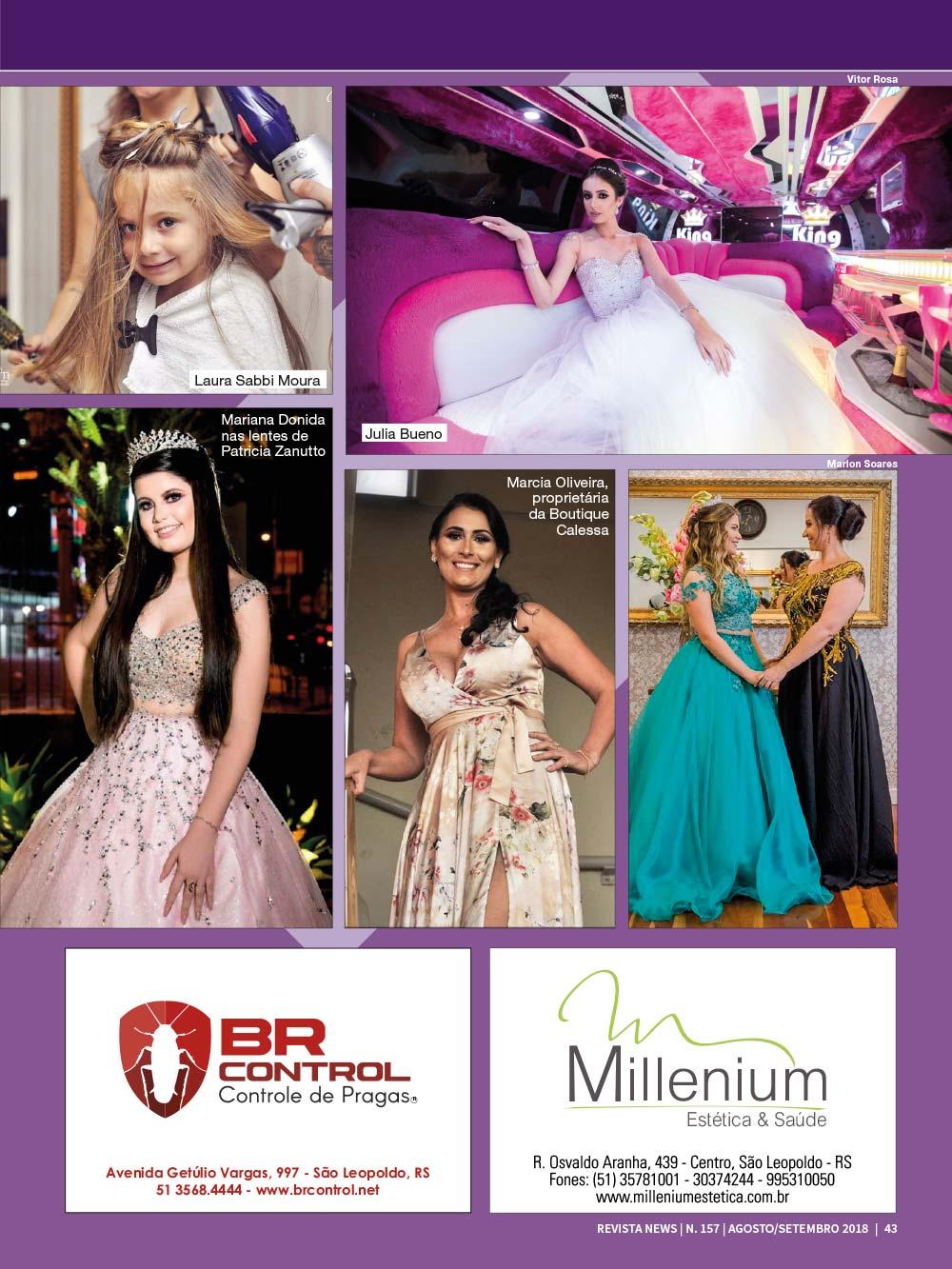 Revista News 157 43 - Nina Sabbi Moura - Edição 157
