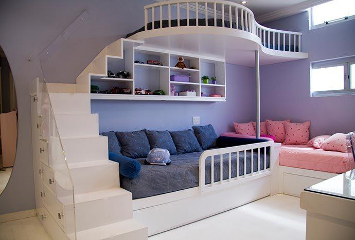 quarto infantil 690x468 - Quartos infantis criativos