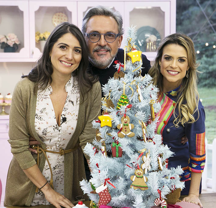 "Photo of Isabella Fiorentino e Arlindo Grund no ""Bake Off Brasil"" deste sábado (25)"