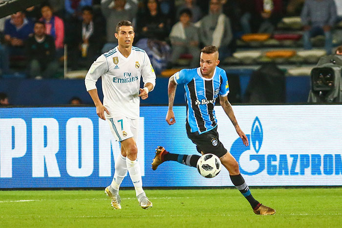 Cristiano Ronaldo do Real Madrid - Grêmio é derrotado pelo Real Madrid na final do Mundial de Clubes