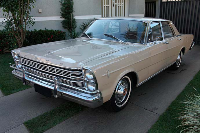 Photo of Ford Galaxie completa 50 anos