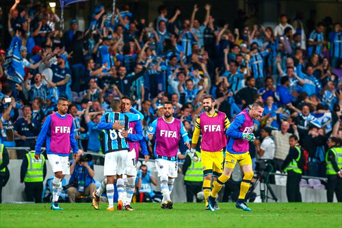 Grêmio na final do mundial - AGORA A PELEIA DO GRÊMIO É CONTRA O REAL MADRID