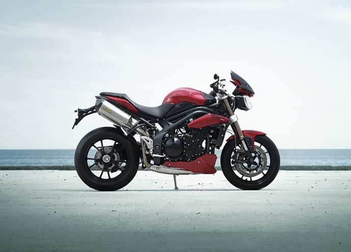 Photo of Recall motocicletas Triumph modelo Speed Triple R