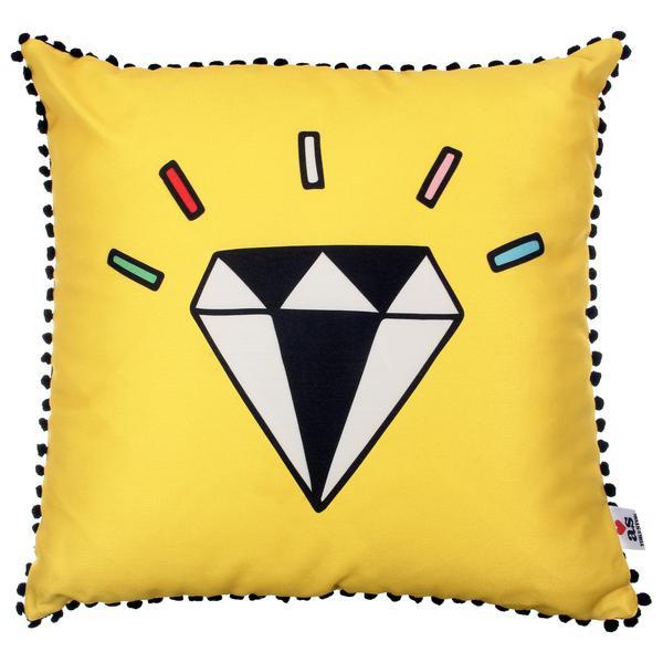 329403 761010 follow your dreams diamond almofada 45cm frente  web  - Volta às Aulas da Tok&Stok