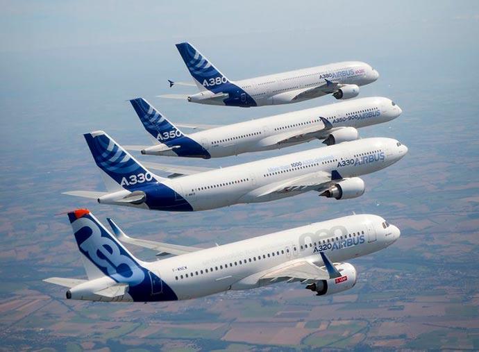 Airbus - Airbus tem desempenho recorde com entregas de aeronaves