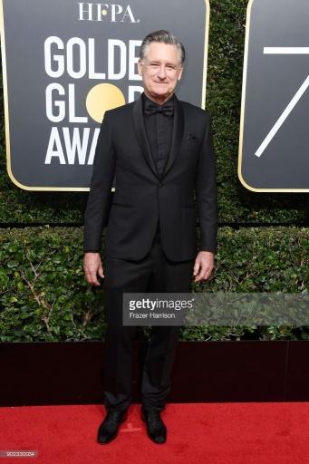 Bill Pullman - Globo de Ouro:  Celebridades brilham com sapatos Christian Louboutin
