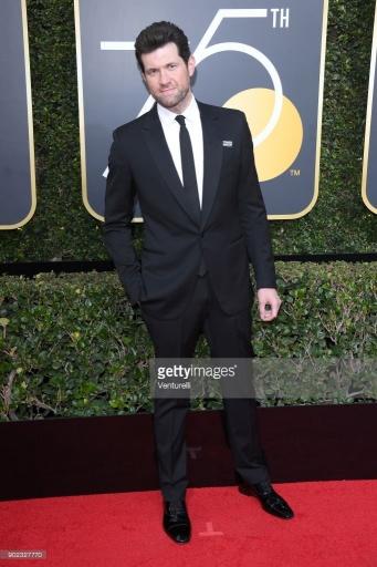 Billy Eichner - Globo de Ouro:  Celebridades brilham com sapatos Christian Louboutin