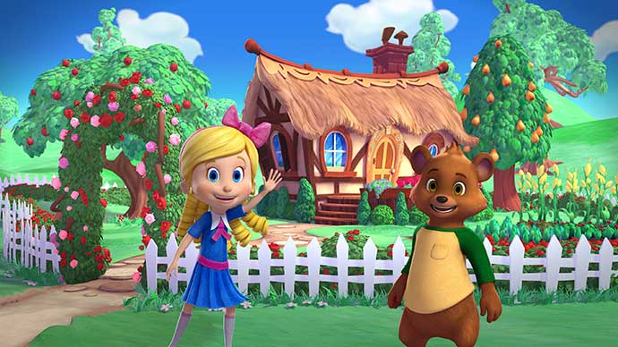 Cachinhos Dourados e Ursinho - 'Cachinhos Dourados e Ursinho' estreia nova temporada no Disney Junior