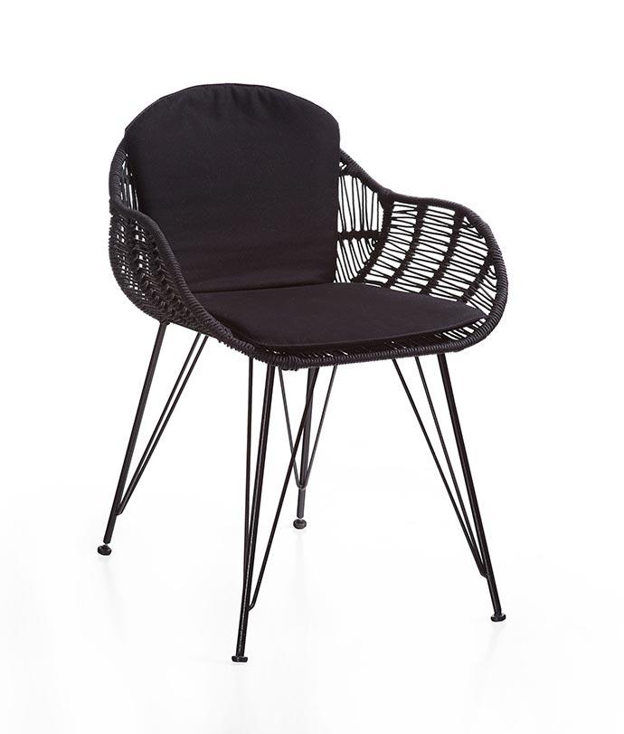 Cadeira Apui - Lider apresenta linha especial para áreas externas