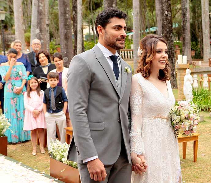 Casamento Cecilia e Gustavo Foto Lourival Ribeiro SBT 125 - O casamento de Cecília e Gustavo na novela Carinha de Anjo
