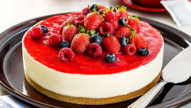 Photo of Receita – Cheesecake de frutas vermelhas