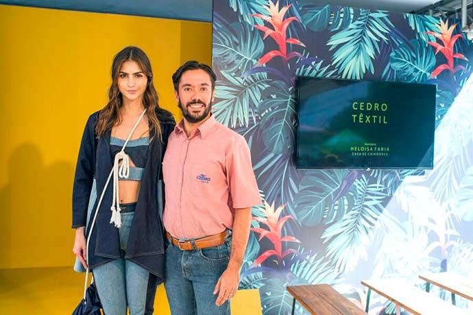 Colombiatex 2 - Colombiatex 2018 aquece exportação na Cedro Textil