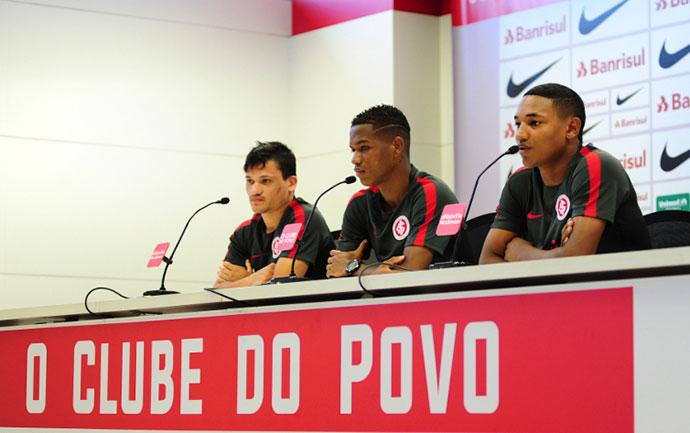 Da base do Inter ao grupo principal - Inter promove garotos da base ao grupo principal