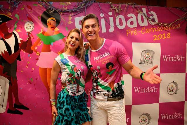 Feijoada Pré carnavalesca da Windsor Barra 2 - Feijoada Pré-carnavalesca da Windsor Barra conta com a presença de famosos