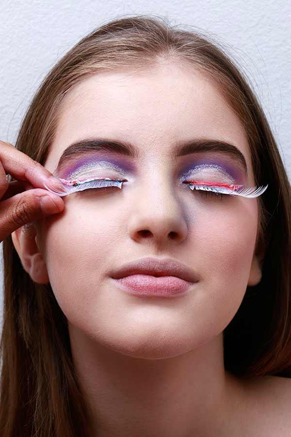 Foto 15 - Passo a passo maquiagem de unicórnio para o Carnaval