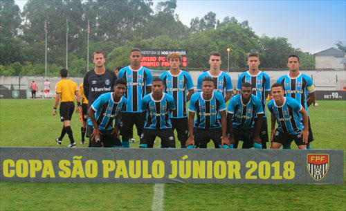 GRÊMIO SE CLASSIFICA PARA A TERCEIRA FASE DA COPA SÃO PAULO - Tricolor bateu o Guarulhos nesta sexta-feira e avança na Copa São Paulo