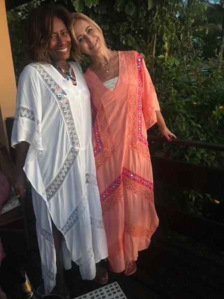 Glória Maria - Celebridades usam Batiche nas férias