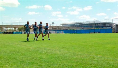 Grêmio em semana de treinos em Porto Alegre - Grupo gremista segue a preparação de pré-temporada