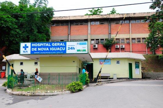 Hospital Geral de Nova Iguaçu - RJ: grávida baleada na cabeça continua em estado grave, mas estável
