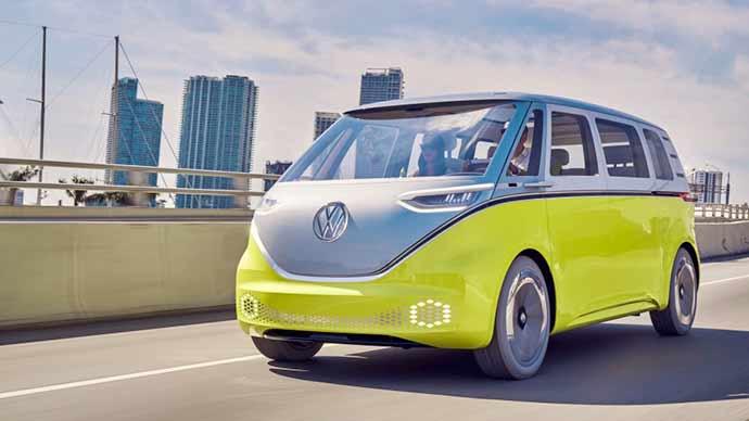 I.D. BUZZ - Volkswagen e NVIDIA parceiros para nova geração de veículos inteligentes