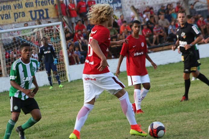 Inter Sub 17 copa santiago - Inter Sub-17 se despede da Copa Santiago