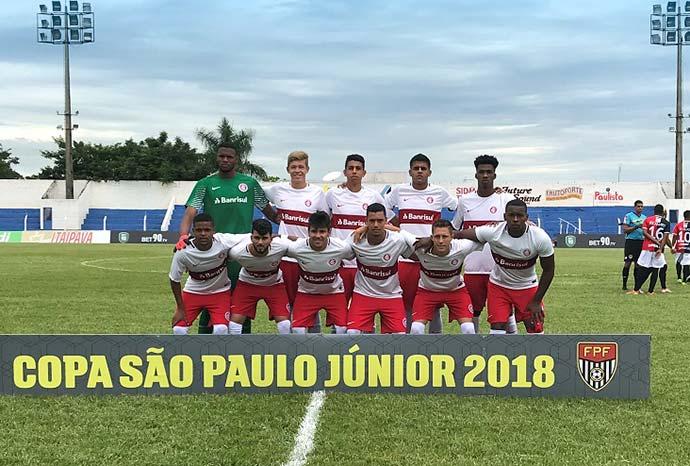 Inter sub19 na Copa São Paulo - Inter avança à segunda fase da Copa São Paulo
