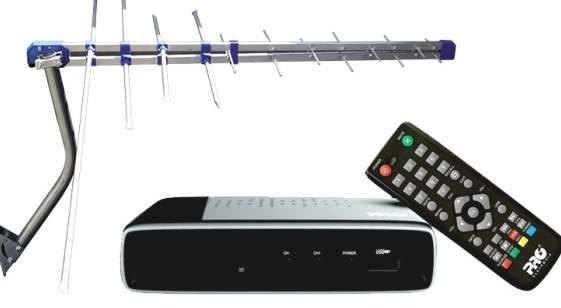 Kit para TV digital doado pelo Governo Federal - 17 mil kits de conversão para TV Digital já foram retirados em São Leopoldo