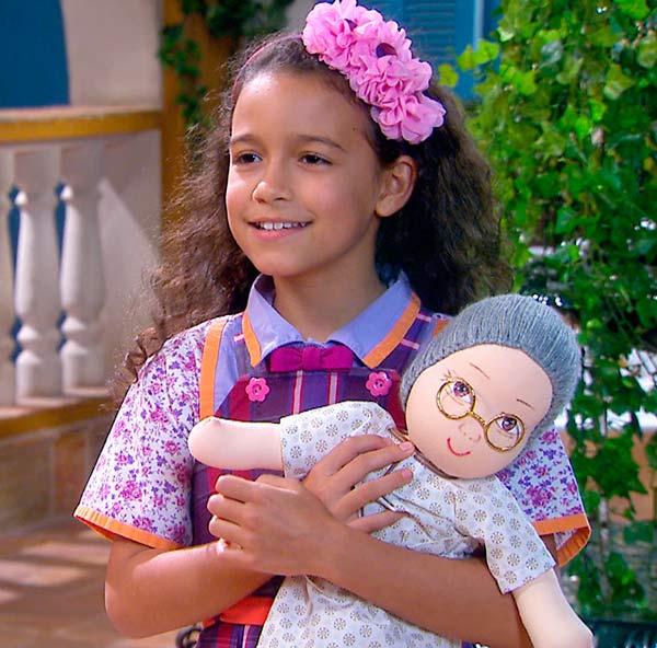 Lulu com boneca nova 01 - Carinha de Anjo -  Resumo dos Capítulos 306 a 310 (22.01 a 26.01)