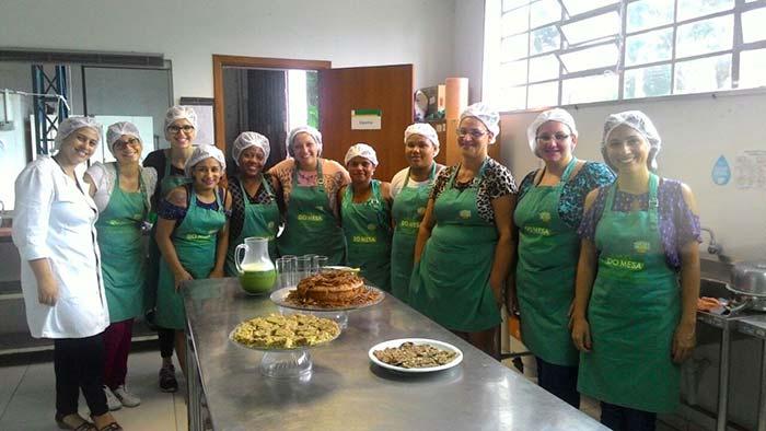 Mesa Brasil Sesc Açoes Educativas 1 - Programa Mesa Brasil Sesc promove trabalho com instituições sociais gaúchas