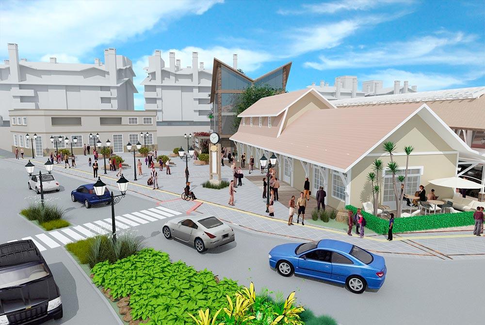 Projeto Estação Campos de Canella 2 - Revitalização da Estação Férrea de Canelachega ao Largo da Fama