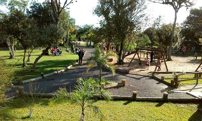 Recreação para toda a família no Parque Imperatriz 1 - Parque Imperatriz é alternativa de lazer para toda a família