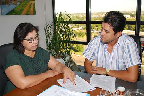 São Leopoldo Proteção Animal Reunião SEMPA 13 - Proteção Animal presta contas à prefeita em exercício