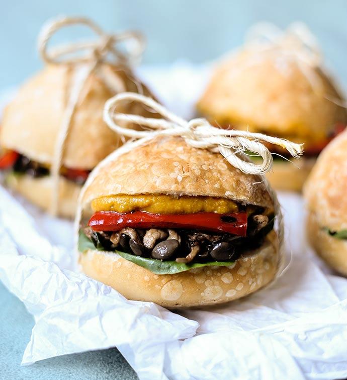 Sanduíche de cogumelo shimeji - Receitas práticas e saudáveis para o dia a dia