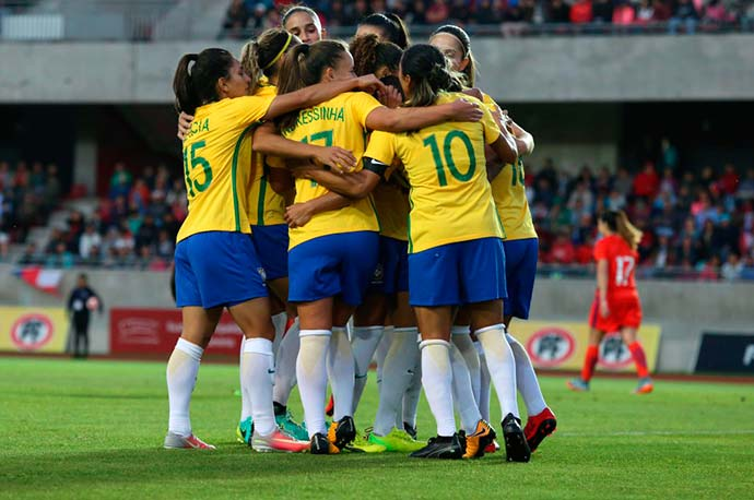 Photo of Seleção Feminina rumo a Copa América no Chile, em abril