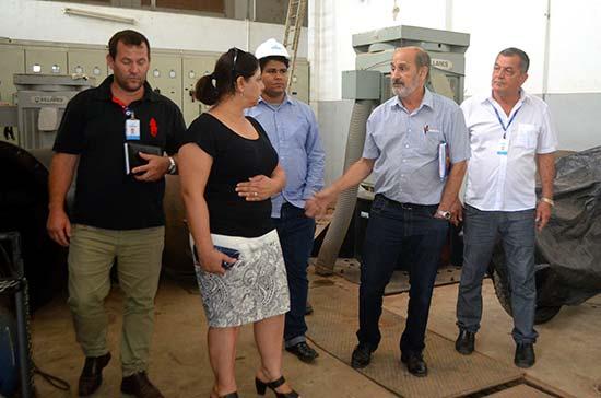 Photo of Prefeita em exercício visita o Semae