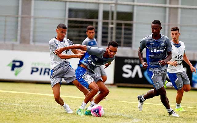 Treinamento do Grêmio em Janeiro 1 - GRÊMIO SEGUE A PREPARAÇÃO PARA A TEMPORADA 2018