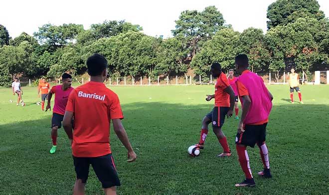 Treino Juniores do Internacional 1 - Inter pronto para estreia na Copa São Paulo de Futebol Júnior