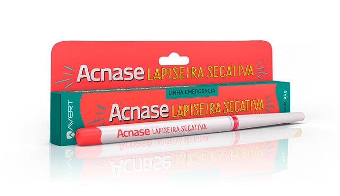 acnase lapiseira - Lapiseira secativa Acnase