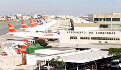 aero congonhas - Tarifas de aeroportos da Infraero são reajustadas