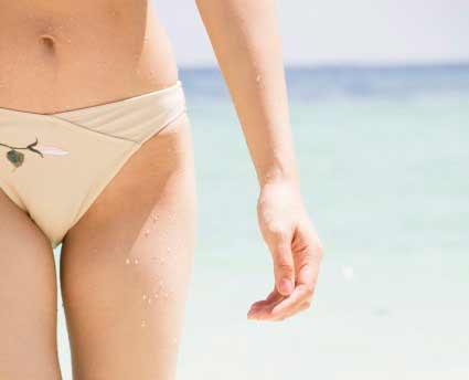 biquini - Cuidados para prevenir a infecção urinária