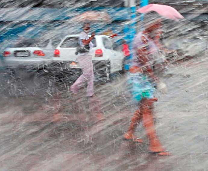 chuvas - Chuvas deixam Rio de Janeiro e região serrana em estágio de atenção